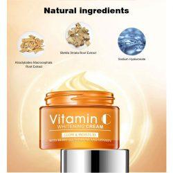 Crema Rostro Vitamina C Ácido Hialurónico Disaar