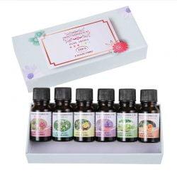 Set Aceites Aromaticas Humidificador Difusor