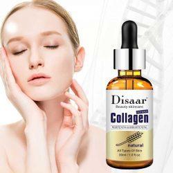 Serum facial Disaar Colágeno ayuda a mejorar notablemente la apariencia y textura de tu rostros reduciendo las líneas de expresión e hidratando profundamente la piel.