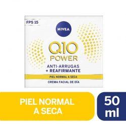 Crema Facial Antiarrugas Q10 Power Dia Fps20 Piel Normal