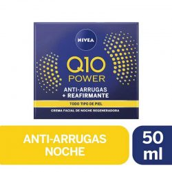Nivea Crema Facial Antiarrugas +Reafirmante Q10 Power